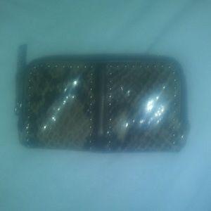 Women's snakeskin Brighton wallet